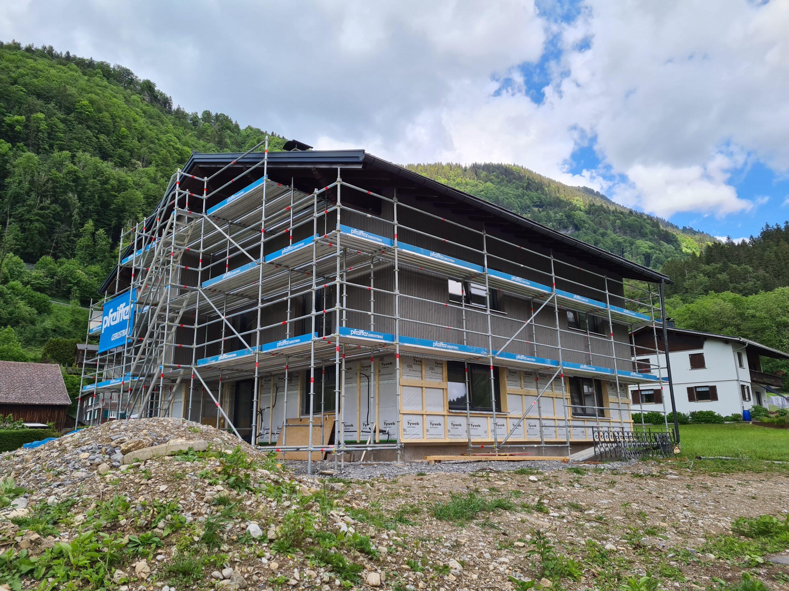 Umbau EFH Schnepfau